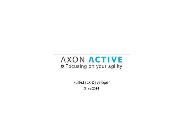 Full-stack Developer Since 2014