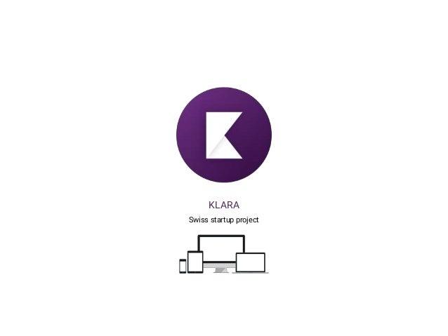 KLARA Swiss startup project