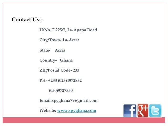 What Is The Zip Code Of Accra Ghana