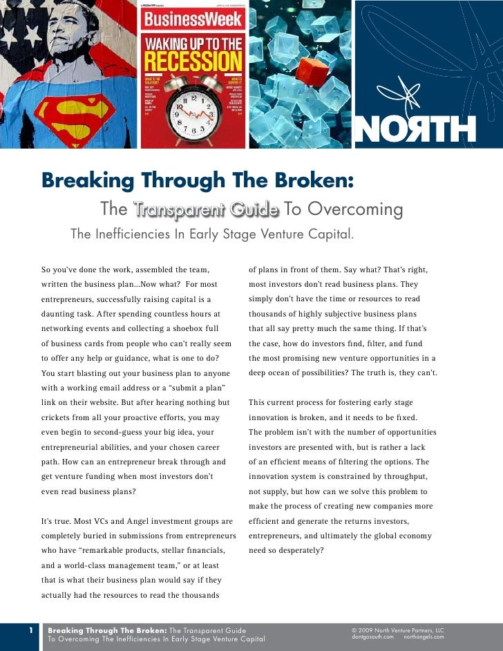 Breaking Through The Broken:                     The Transparent Guide To Overcoming             The Inefficiencies In Ear...