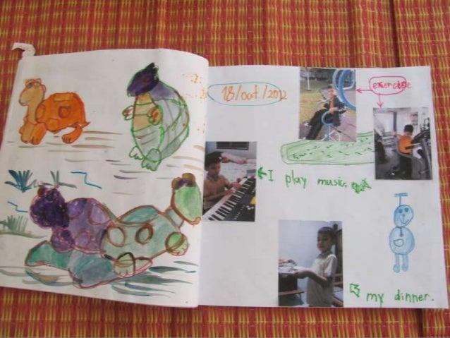 First Grade ELL Thai Students Writing Journals Slide 3