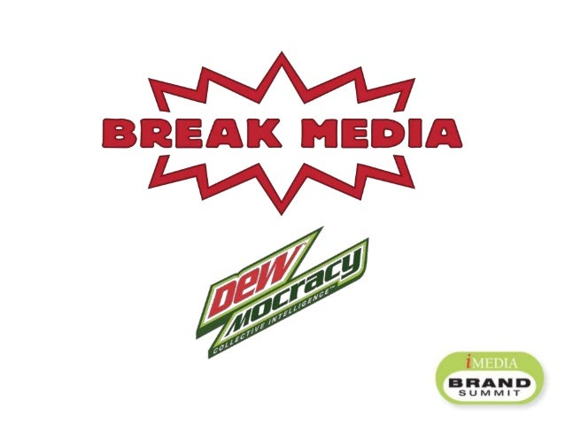 – DEWmocracy: (dü-mä-krə-sē) Creating the next Mt. Dew product by harnessing the collective intelligence of the brand's pa...