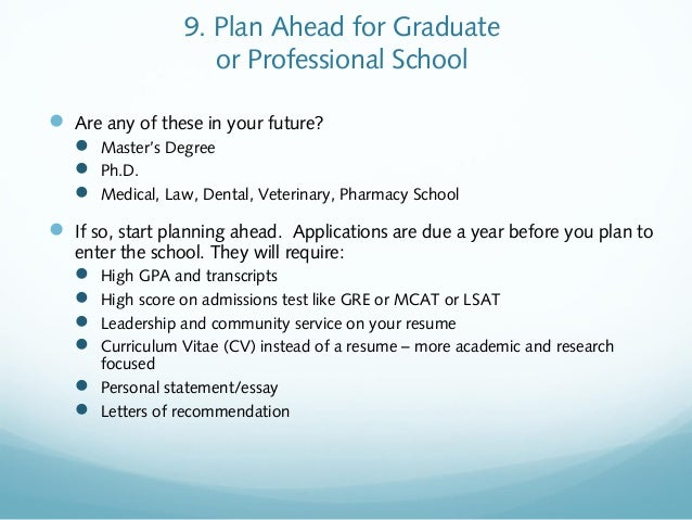 your future career planning ahead breakthrough audience 2013