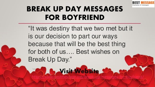 Best Breakup Day Messages - Breakup Wishes, Breakup Quotes