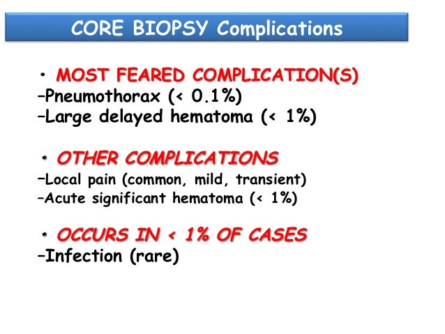 Anticoagulation and Bleeding Risk After Core Needle Biopsy  12  (  6%)    68  (  34%)    36  (  4,2%)   ...