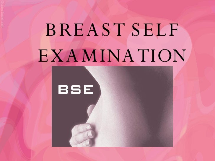 Breast exam ppt