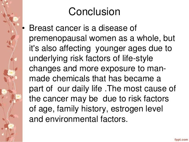 conclusion of breast cancer