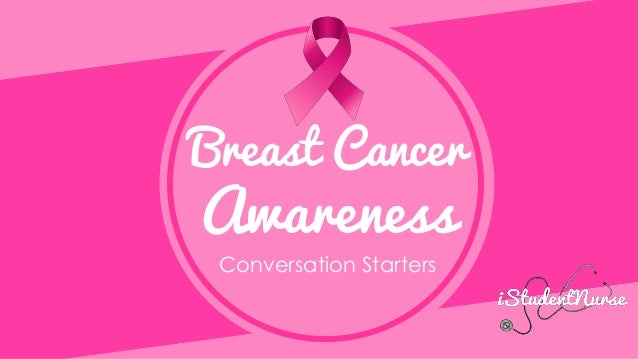 Breast Cancer Awareness Conversation Starters