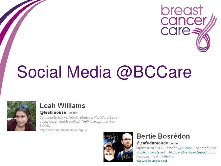 Social Media @BCCare