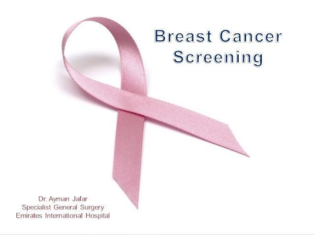 Objectives Demonstrate the incidence of breast cancer, facts and statistics Review the risk factors of breast cancer and t...