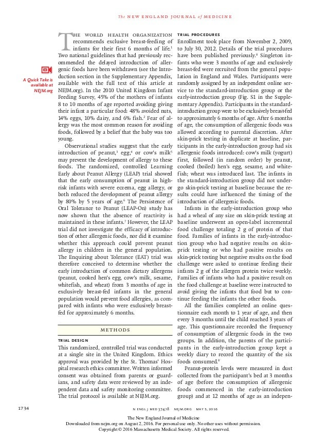 n engl j med 374;18nejm.org May 5, 20161734 The new engl and jour nal of medicine T he World Health Organization recomme...
