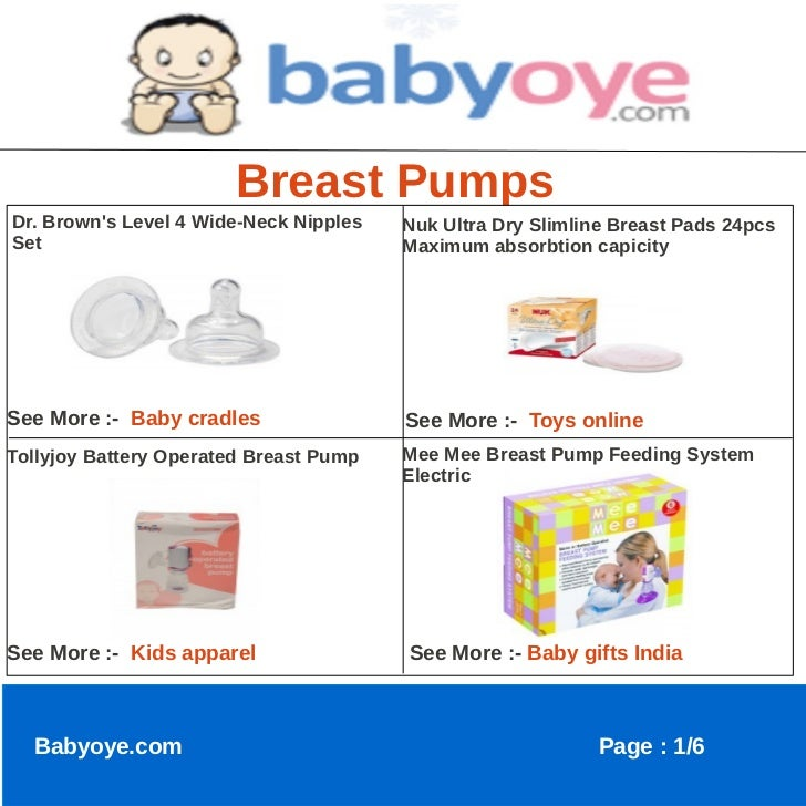 Breast PumpsDr. Browns Level 4 Wide-Neck Nipples   Nuk Ultra Dry Slimline Breast Pads 24pcsSet                            ...