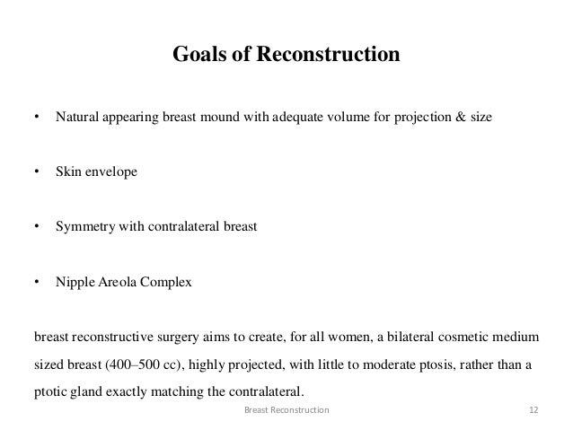 what was the goal of reconstruction