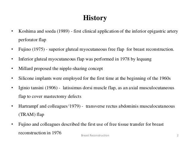 Breast reconstruction manish jian Slide 2