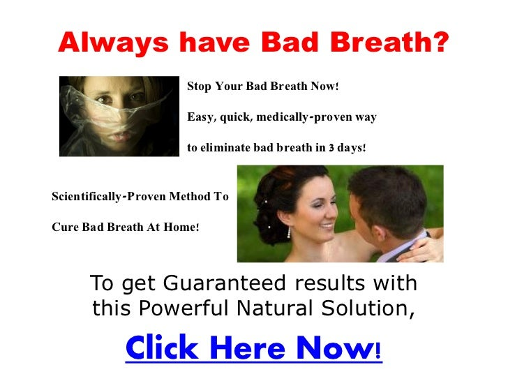how to stop bad breath when dieting