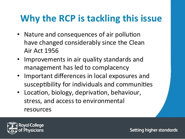 discuss five ways in which air pollution impacts on the community Read chapter 1 sources and effects of carbon monoxide emissions: the public-health impact of such episodes, and alternative ways to measure progress in controlling ambient co air pollution in buildings can come from indoor sources and from air exchange with outdoor ambient pollution.