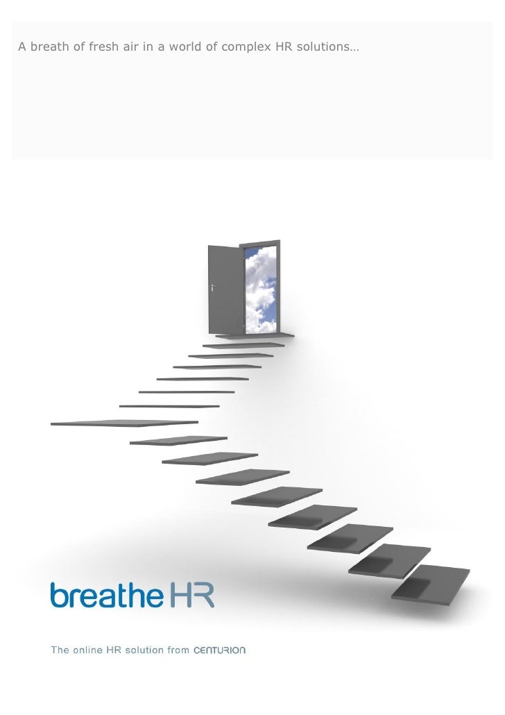 A breath of fresh air in a world of complex HR solutions…
