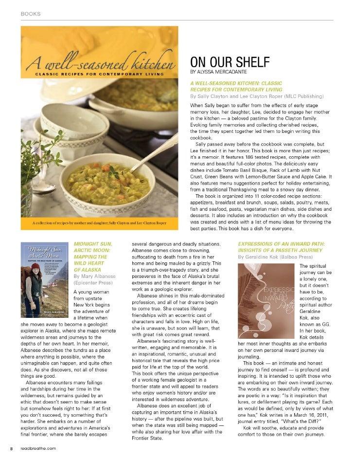 Breathe Magazine May Book Reviews