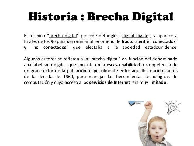 Brecha digital IMD Slide 2