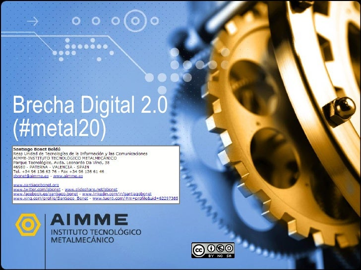 Brecha Digital 2.0 (#metal20)