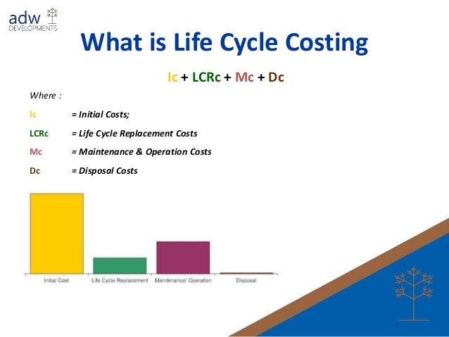 life cycle costing Life cycle costing (lcc) is an important economic analysis used in the selection of alternatives that impact both pending and future costs.