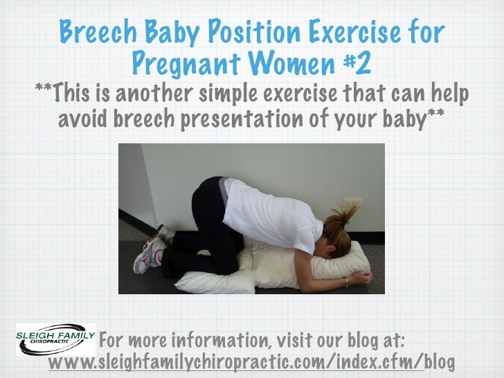 Second Exercise to Help Prevent and Avoid Breech ...