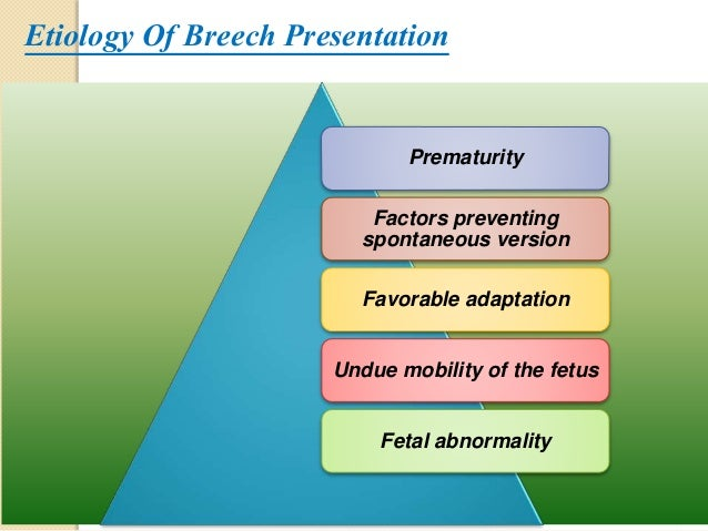 Breech presentation 12 etiology of breech presentation ccuart Choice Image