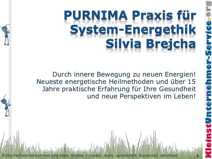 Durch innere Bewegung zu neuen Energien!                   Neueste energetische Heilmethoden und über 15                  ...