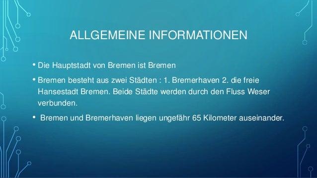 WAHRZEICHEN • Obwohl Bremen nicht besonders groß ist, hat die Stadt sogar zwei Wahrzeichen (Sehenswürdigkeiten): 1. Die Br...