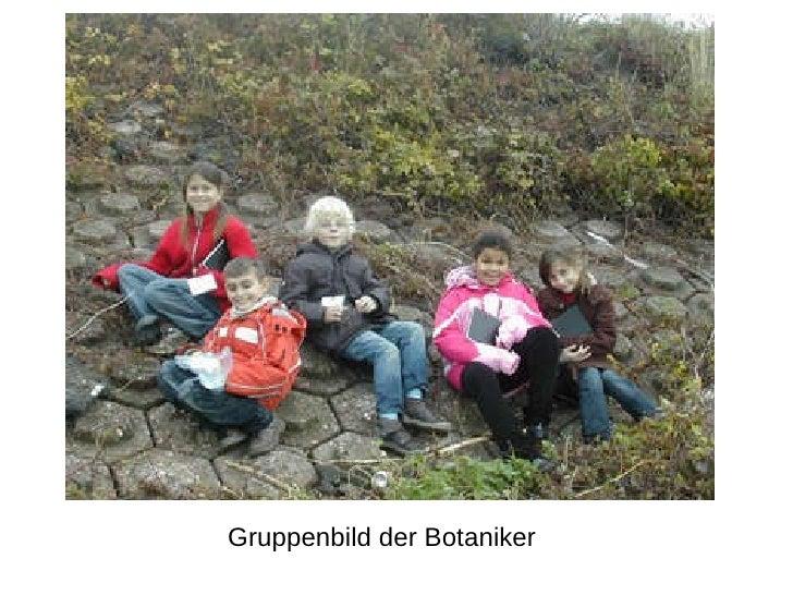 Gruppenbild der Botaniker