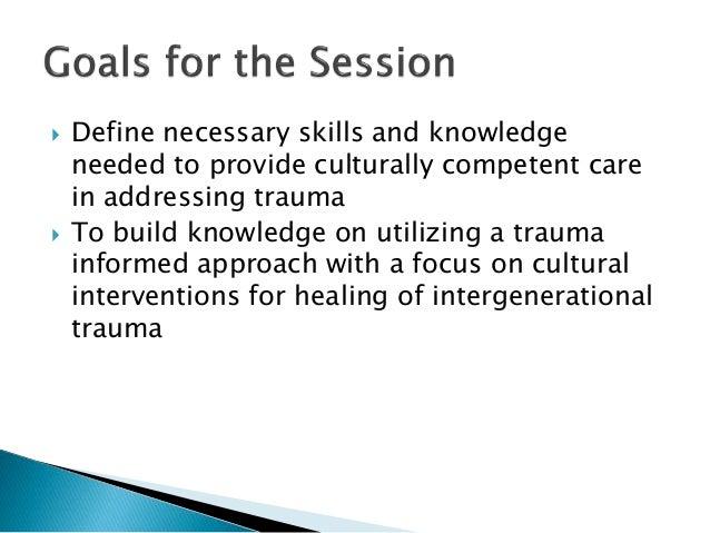 Brenda Restoule Cultural Competency In Trauma Informed Care