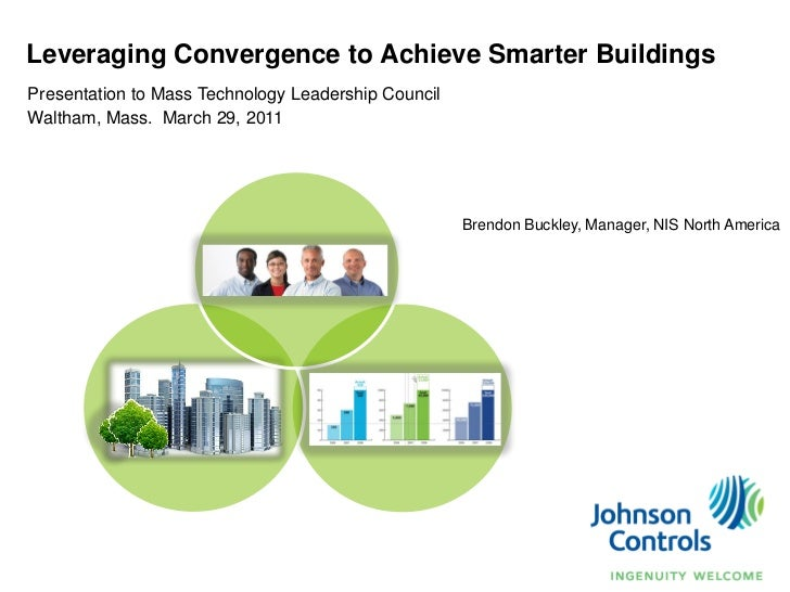 Leveraging Convergence to Achieve Smarter BuildingsPresentation to Mass Technology Leadership CouncilWaltham, Mass. March ...