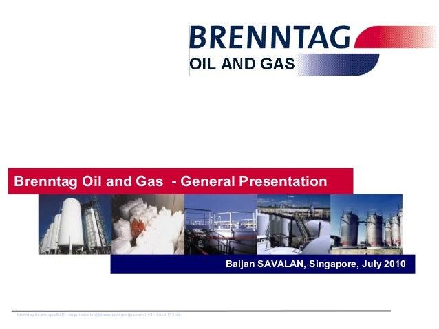 Baijan Savalan_Brenntag oil and gas general presentation