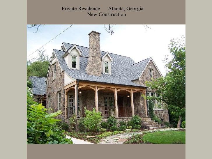 Private Residence   Atlanta, Georgia   New Construction