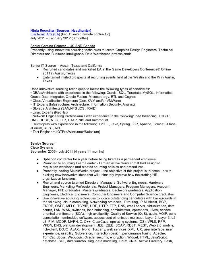 brent rogers 2012 resume