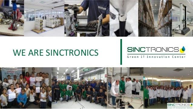 WE ARE SINCTRONICS