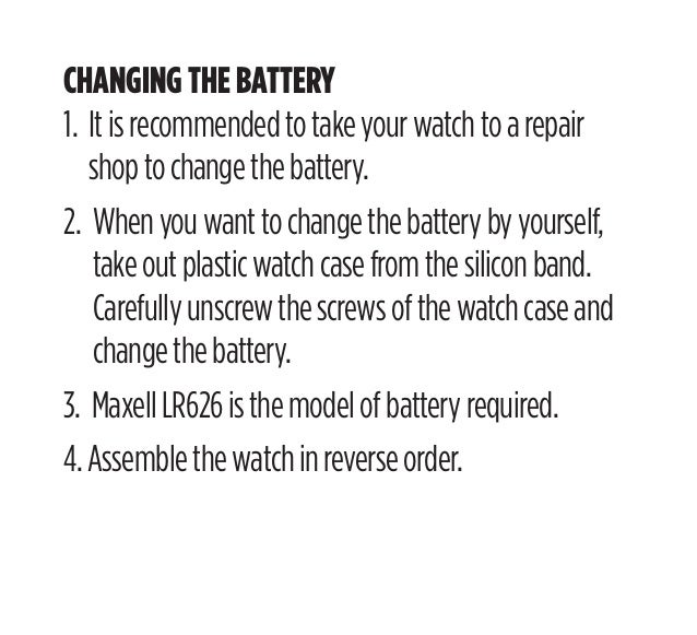 breo watch time setting instructions