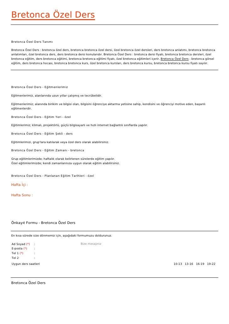 Bretonca Özel DersBretonca Özel Ders TanımıBretonca Özel Ders : bretonca özel ders, bretonca bretonca özel dersi, özel bre...