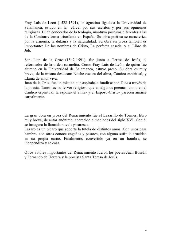 Breve historia de la literatura espa ola - La perfecta casada ...