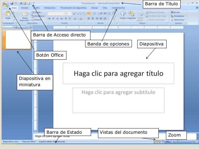 breve manual del power point