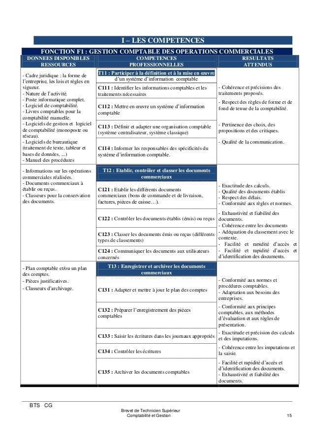 brevet de technicien sup u00e9rieur comptabilite gestion