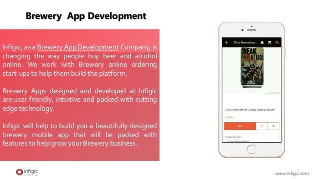 Brewery  app development Slide 2
