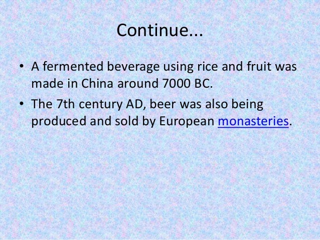Brewery industry ppt