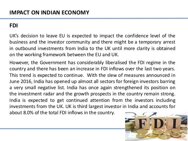 impact of capital account convertibility on fdi inflow and indian economy 1 chapter 1 an introduction to foreign capital flows into india the theoretical arguments in support of foreign capital flows are quite persuasive by affording the opportunity of using the world market, an open capital account.