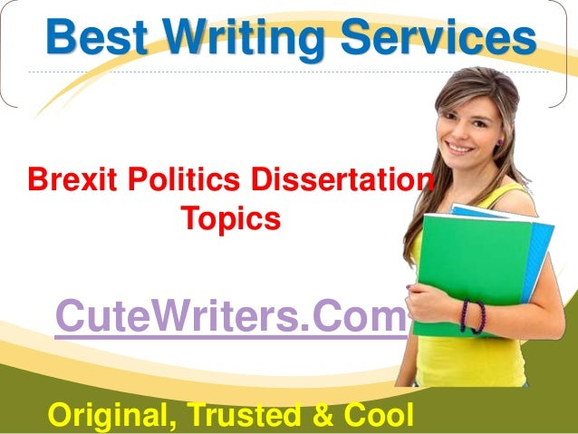 Dissertation doing in politics