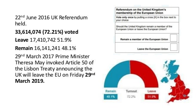 Brexit, social media and fake news Slide 3