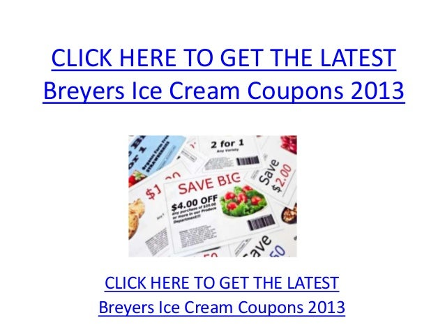 graphic about Breyers Ice Cream Coupons Printable titled Breyers Ice Product Coupon codes 2013 - Printable Breyers Ice Product