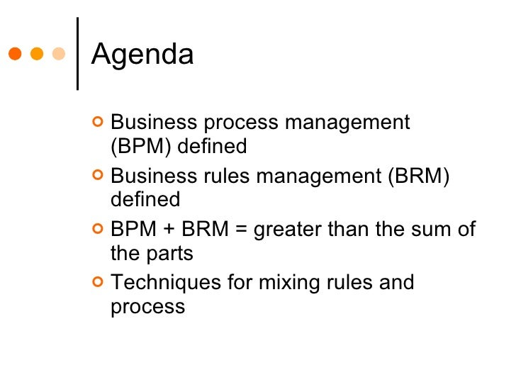 Mixing Rules and Process Slide 2