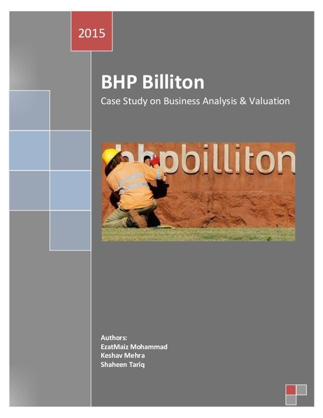 BHP Billiton (BHP) SWOT Analysis