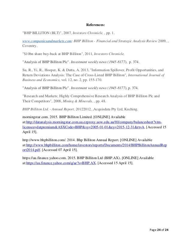 bhp billiton research Bhp billiton ltd research and development expense (annual) (bhp) charts, historical data, comparisons and more.